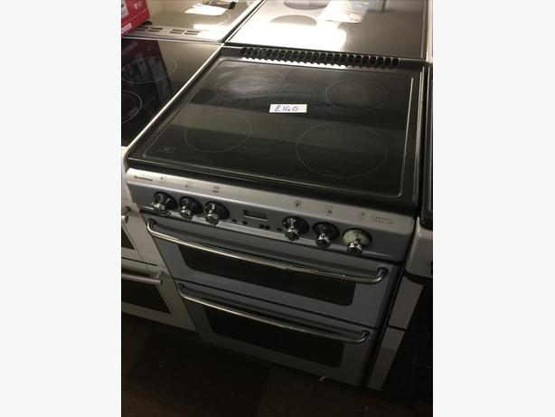 NEWHOME STOVES DOUBLE OVEN COOKER🌎🌎PERFECT WORKING ORDER 🌠🌠