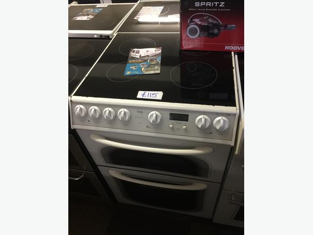 HOTPOINT DOUBLE OVEN ELECTRIC COOKER VERY CLEAN AND TIDY 🌎🌎PLANET APPLIANCE🌠🌠