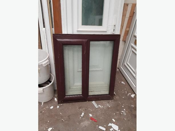 upvc brown window