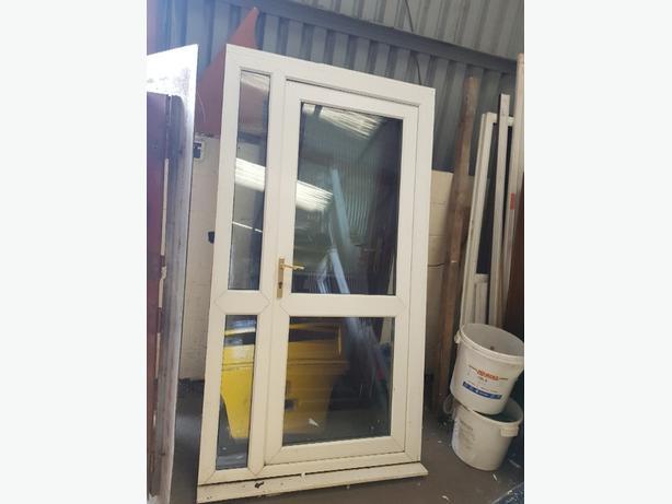 upvc door combination