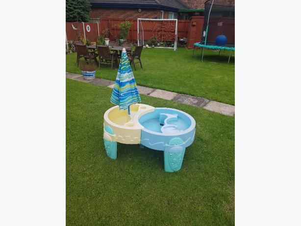 sand and water play centre
