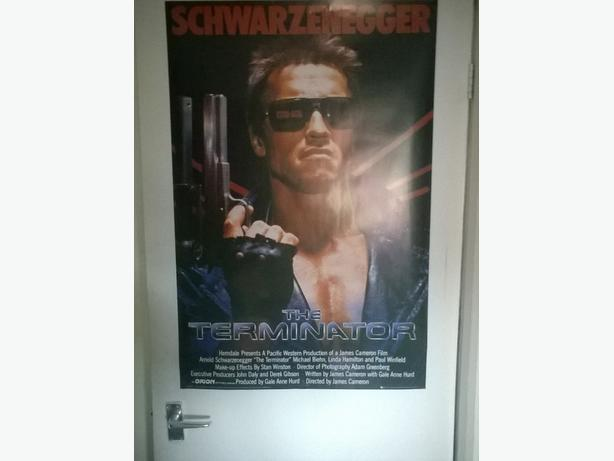 Large terminator poster