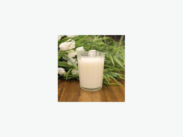 Pack of 4 Scented Votives - Banana Butter
