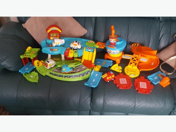 vtech toot garage and accessories