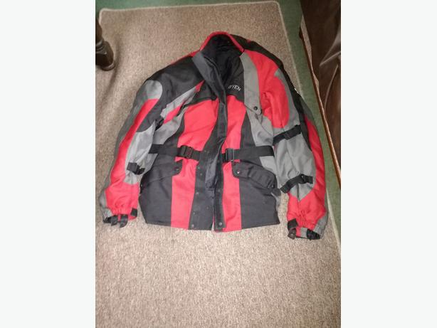RAYVEN TEXTILE MOTORCYCLE JACKET 2XL