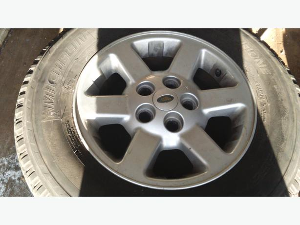 DISCOVERY 2 RANGE ROVER ALLOYS AND TYRES X5
