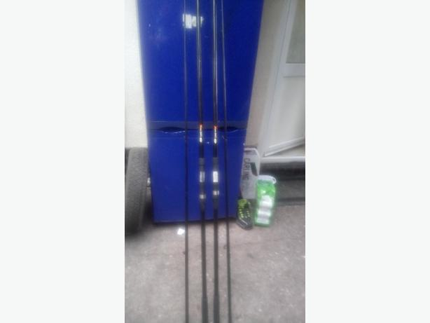 2x ngt carp rods