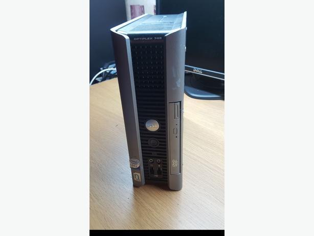 Dell Optiplex full setup - compact computer
