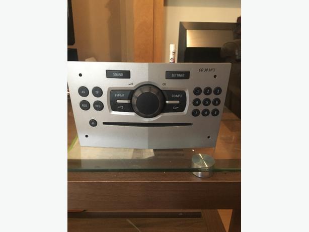 vauxhall corsa stereo