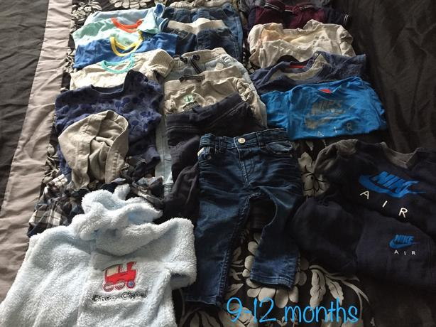 baby boy clothes & toys