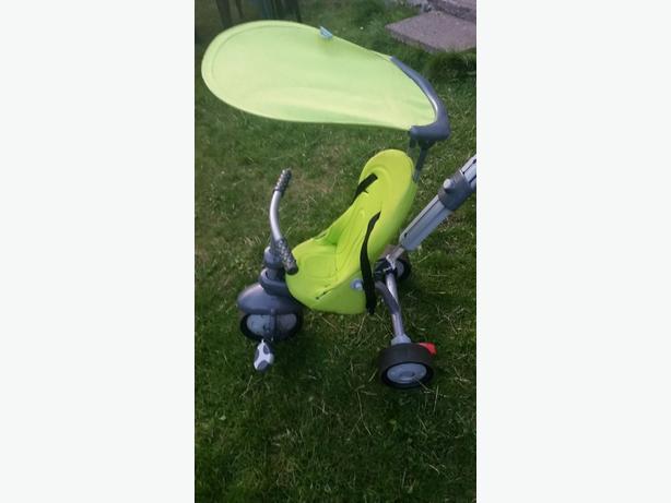 green smart recliner trike