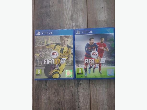 fifa 17 and 16 PS4