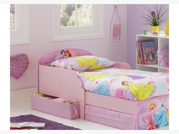 brand new princess toddler bed