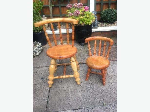Wooden Stools  Both for £10