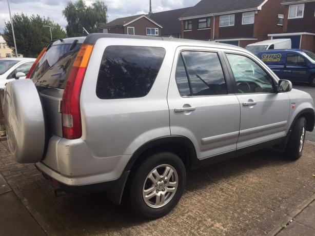 Silver Honda CR-V For Cheap
