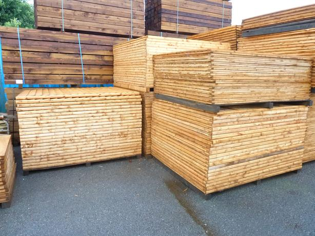 Fence Panels Feather Edge 6x5 Reduced Price!!