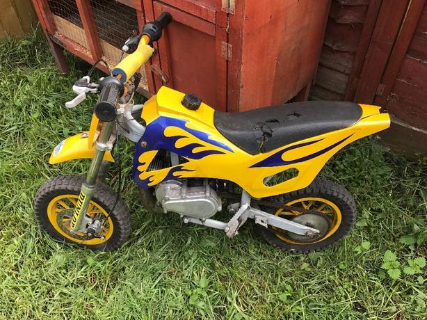 mini moto scambler 49cc