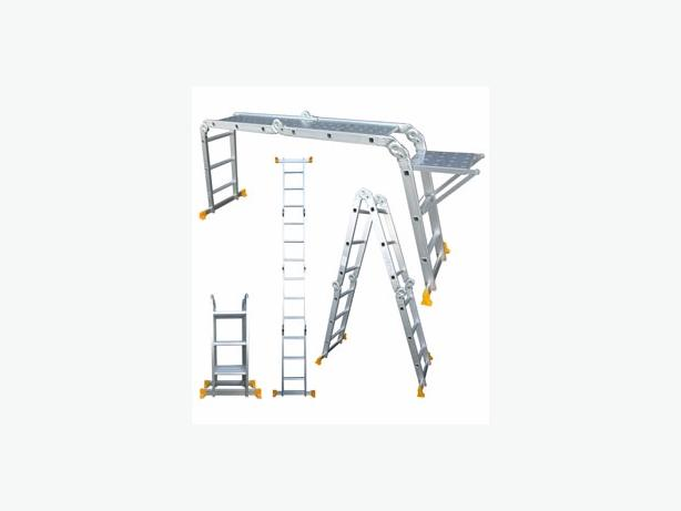 Alu multi purpose ladders - £20 - 07494750760