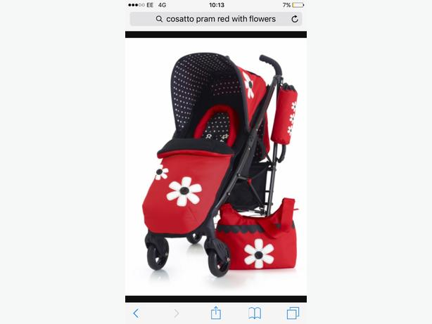 cosetto limited edition pram set