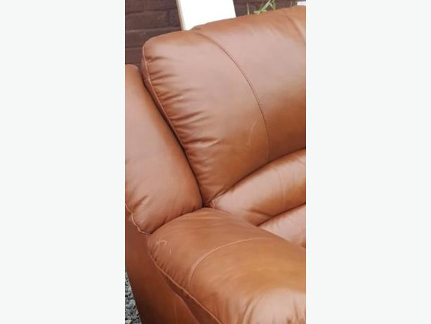 3 seater sofa and a chair