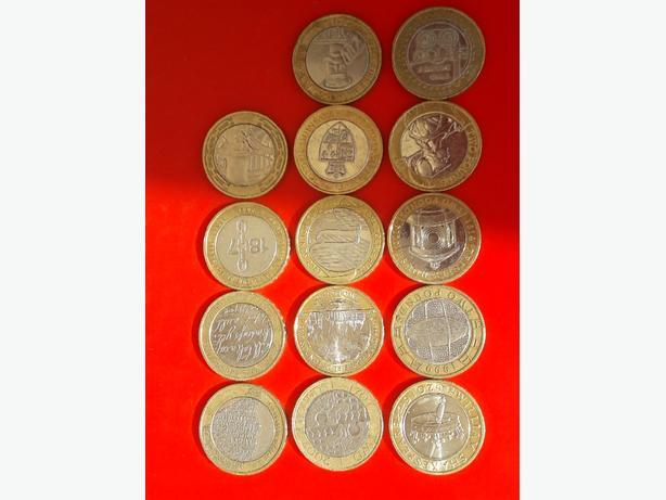 TWO POUND COINS