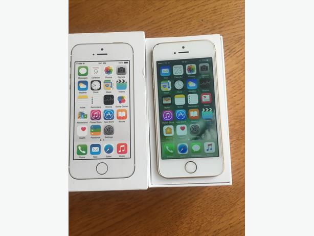 APPLE IPHONE 5S 32GB GOLD EE/VIRGIN BOXED AG