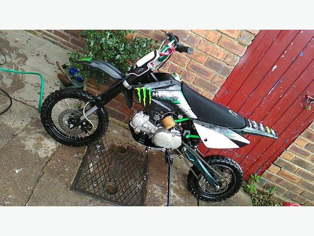 Welsh pit bike wpd 120cc