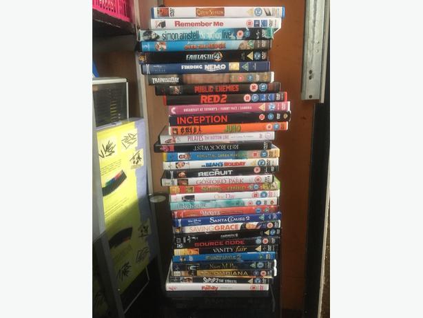 32 Original DVDS £10