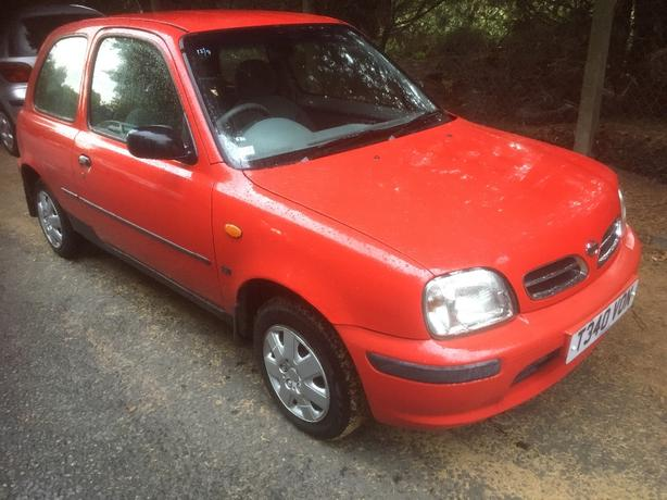 nissan micra. 73000 miles, mot november 2017, drives great.