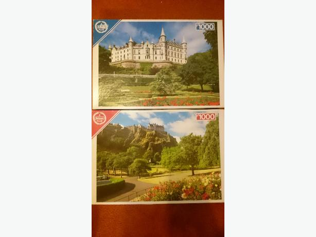 x2 jigsaw puzzles £1.75 each or both for £3