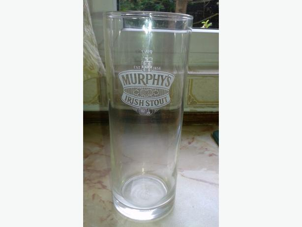 Murphy`s Irish stout glass