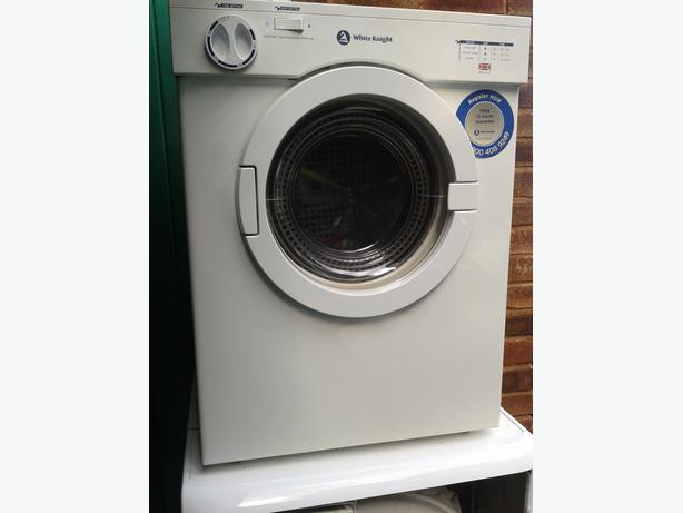 white knight small tumble dryer