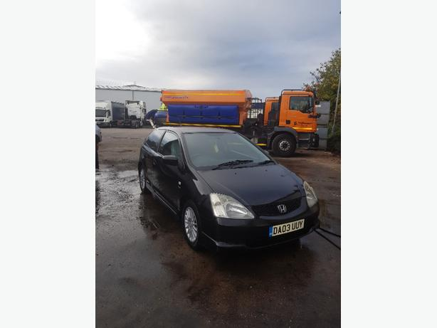 Honda civic 1.6 vetec petrol 2003