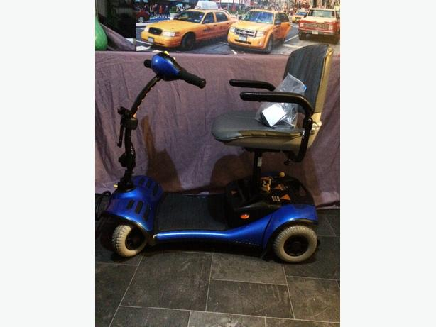Blue Shoprider Mobility scooter