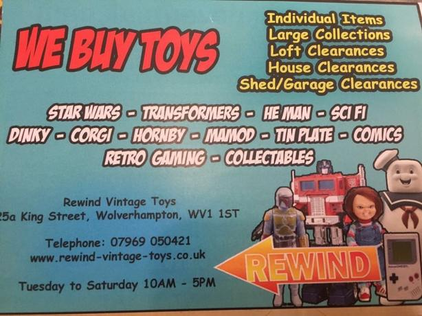 WANTED: sci fi & tv related toys