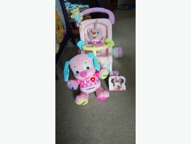 Toys for baby girl