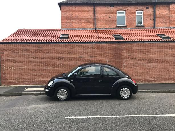 volkswagen beetle 1.6 2002