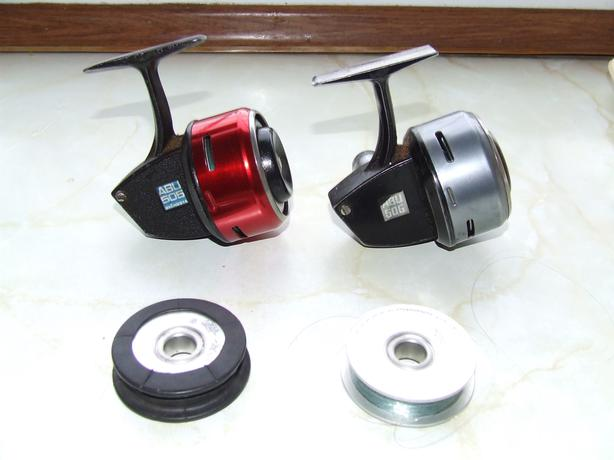 Abu 505 and 506 closed face reels