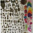 Ch 3) NEW JOB LOT CHARMS. CRAFTS, JEWELLERY MAKING ETC