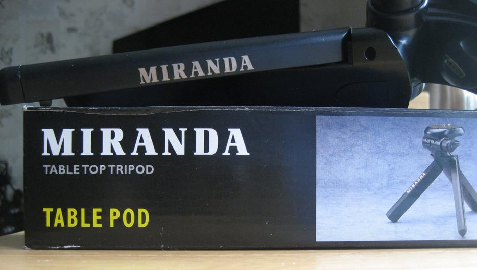Fine 4 Miranda Tabletop Tripod Boxed Download Free Architecture Designs Scobabritishbridgeorg