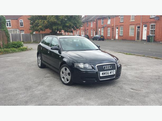 Audi A3 1.9 Tdi Sportsback 2007 In Black
