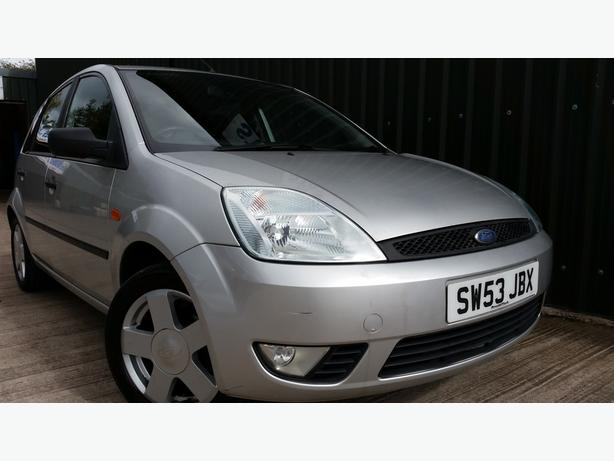 2003 FORD FIESTA 1.4 ZETEC WITH 12 MONTHS MOT AND 7 SERVICES