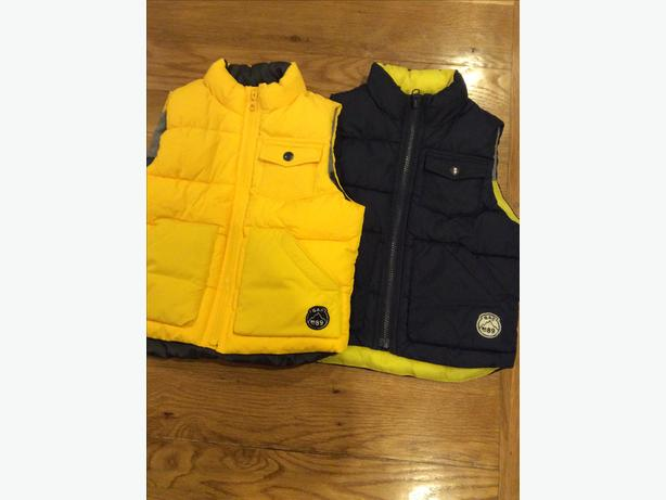 Two GAP body warmers aged 3 years