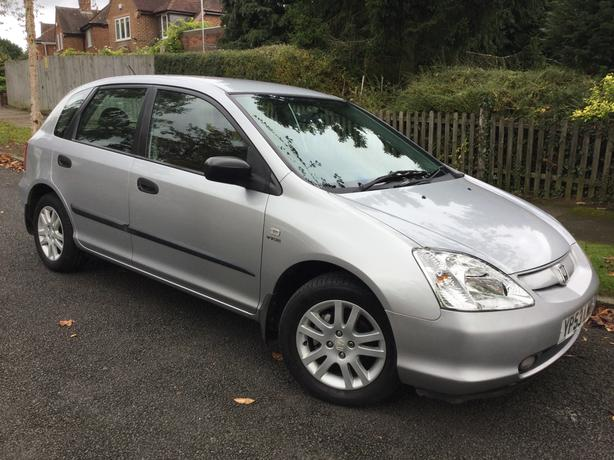 Honda Civic 1.6i VTEC Inspire S 5dr hatch - only 93k with FSH & long MOT !