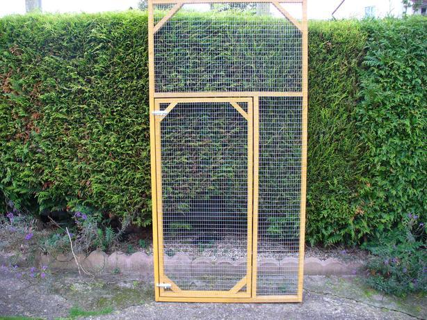 aviary panels/ cat/ bird/ chicken/ rabbit/ budgie/ dog run