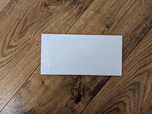 White brick effect tiles b&q - £8