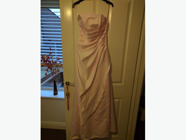 Pink ball gown. Size 10