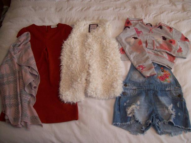 girl's clothes (age 8-9)