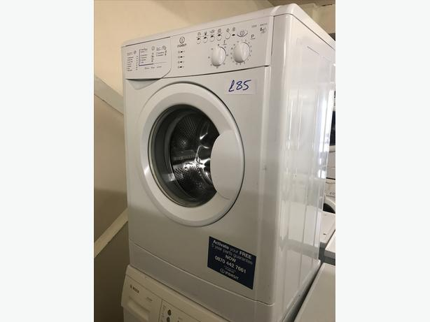 VERY NICE CONDITION INDESIT WASHING MACHINE WITH GENUINE GUARANTEE