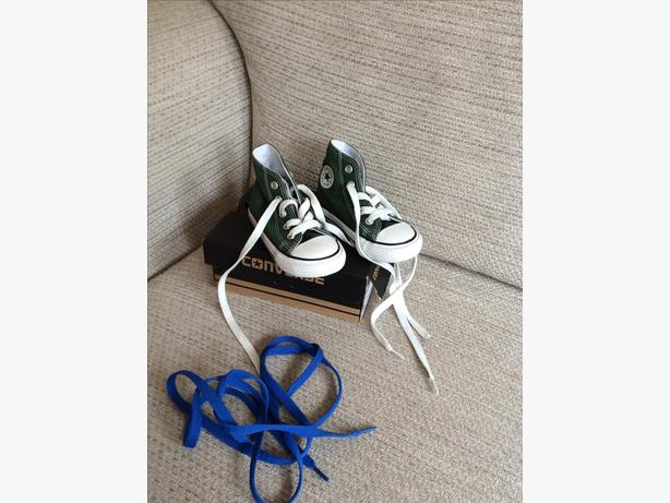 Infant size 5 Converse high tops